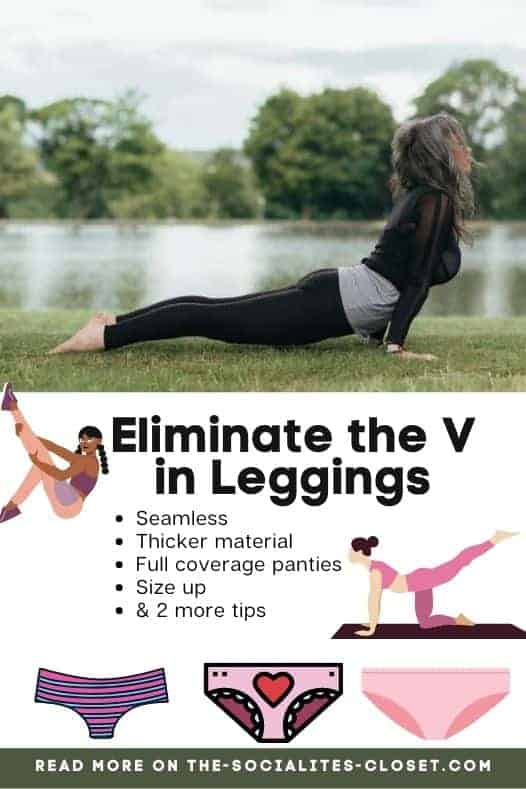 How to eliminate the V in leggings. Check out my picks for the best seamless leggings for women. Get one of these pairs of comfortable leggings for the gym or coffee shop.